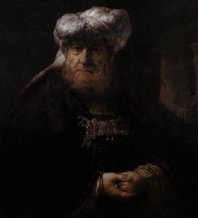 Head of an Oriental, 1635 by Rembrandt