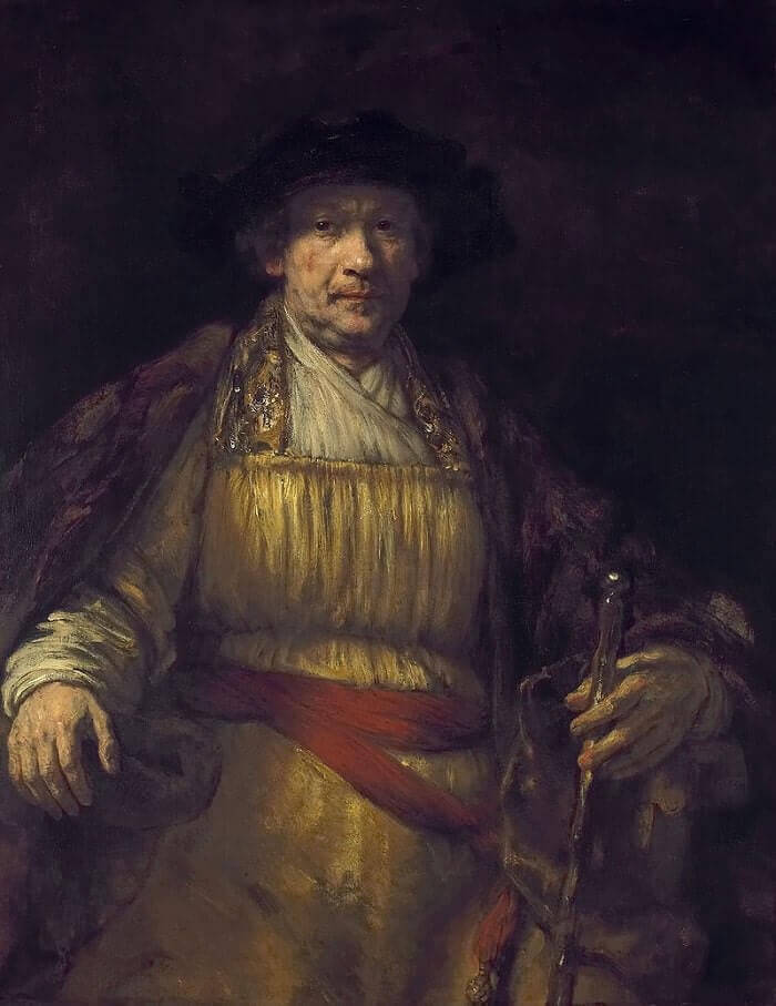 Self Portrait, 1658 by Rembrandt van Rijn