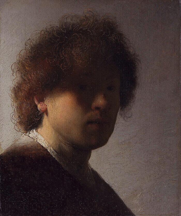 Self Portrait, 1629 by Rembrandt