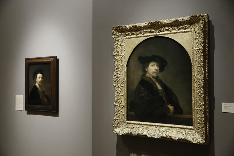 Photo of Self Portrait at Age 34 by Rembrandt van Rijn